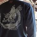 ジャポリズム 長袖和柄Tシャツ 雲龍図