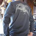 ジャポリズム 長袖和柄Tシャツ 鳳凰図